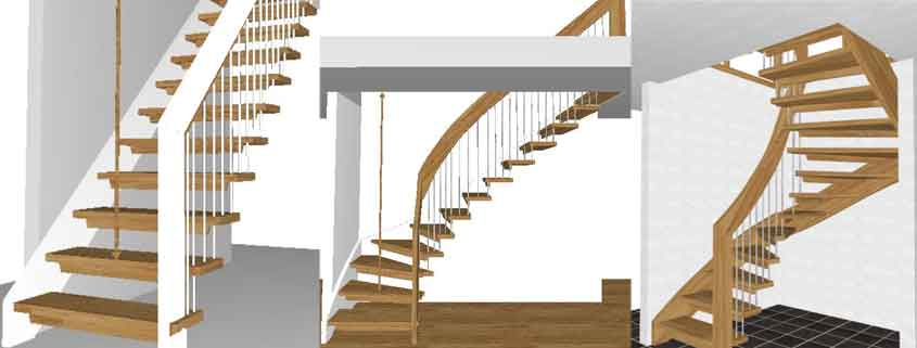 Staircase Drawings