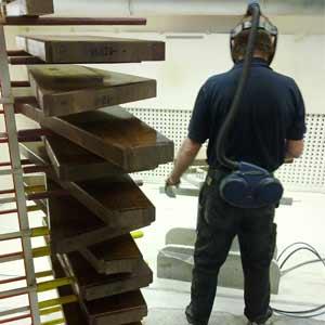Factory Timber Finishing