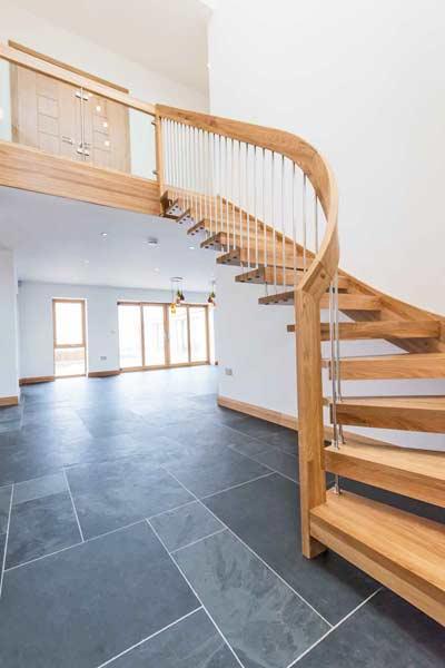 Modern Oak Staircase