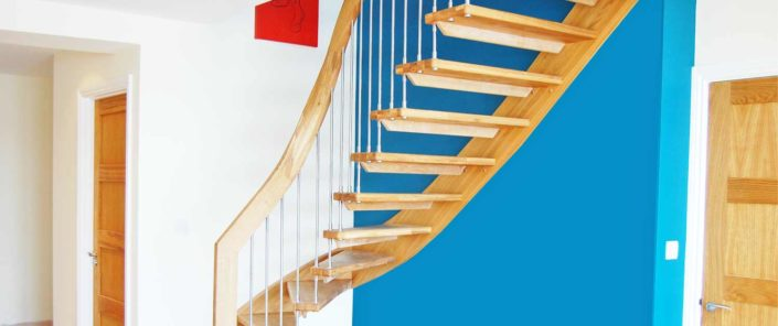 Cantilevered stair Leicester