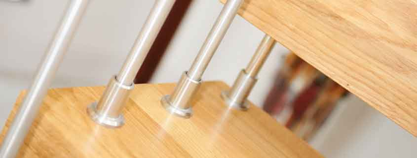 stainless spindles