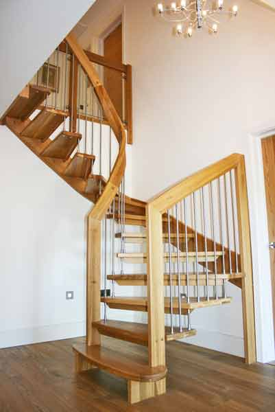 Large Oak Staircase