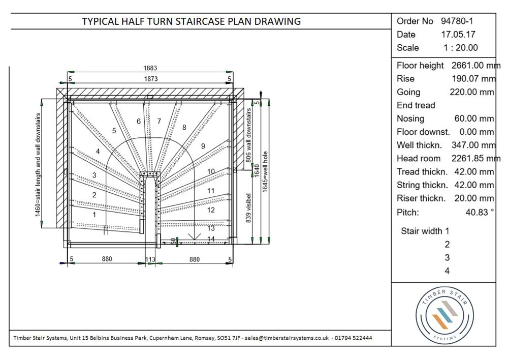 Half-turn-Staircase-Plan-drawing