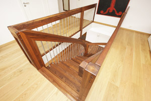 Walnut Landing Balustrade