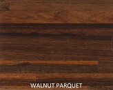 Walnut Parquet wood Staircase