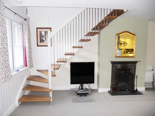 White-handrail